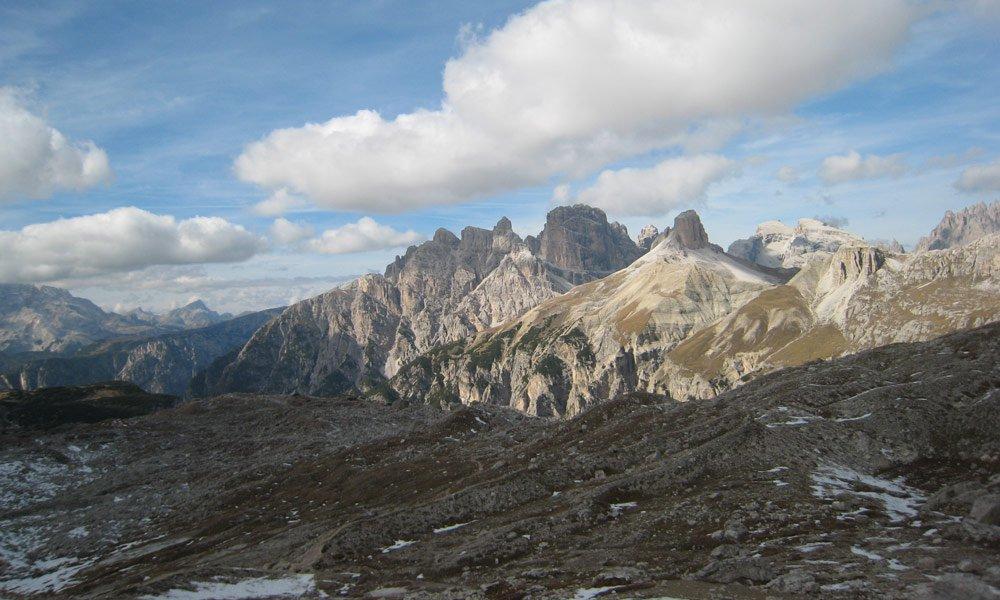 On two wheels through the Dolomites