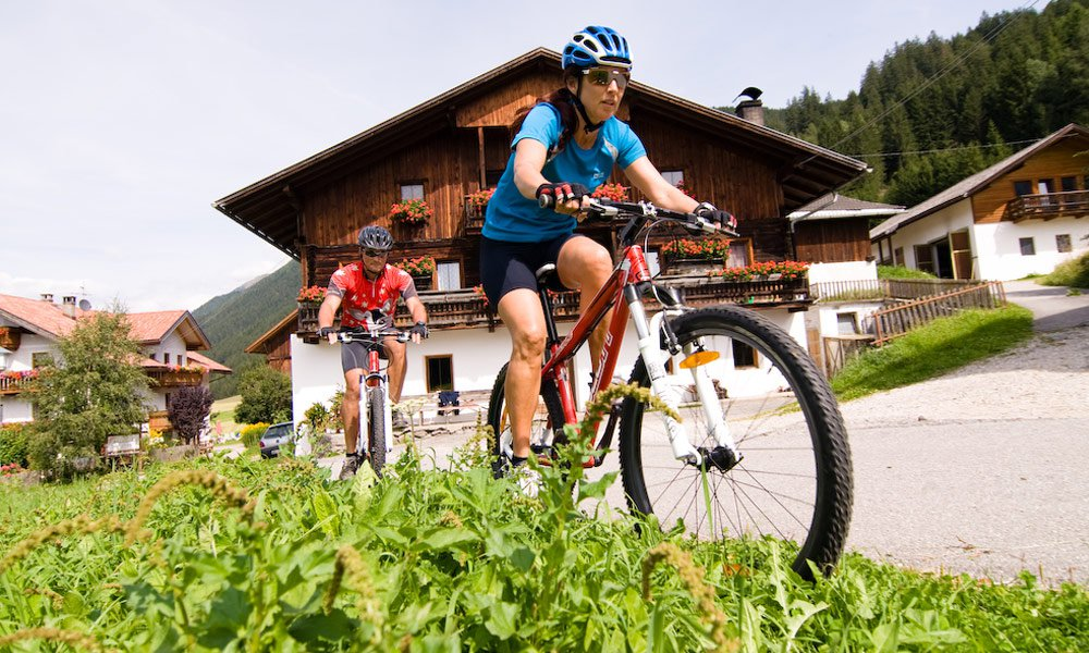 Biking holiday in South Tyrol: The most beautiful routes in Pustertal