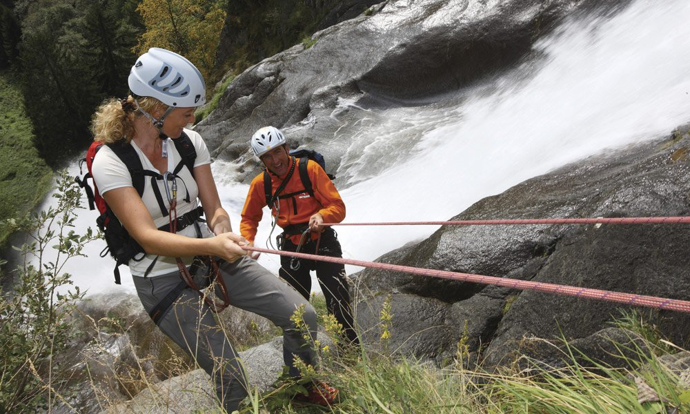Rafting und Canyoning