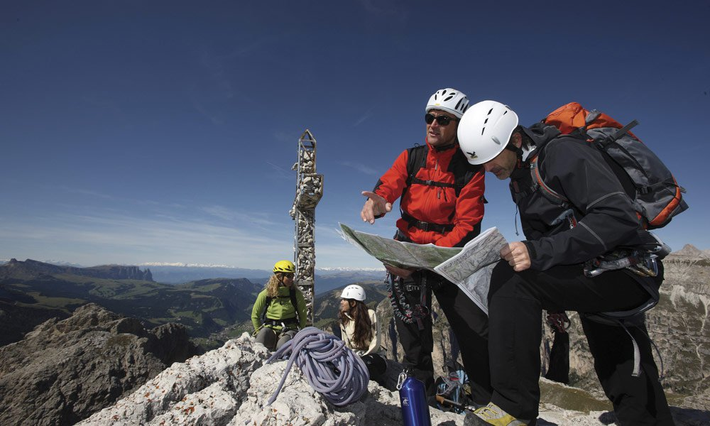 Climbing, golfing, paragliding – everything is possible on holiday in Terenten / Pustertal