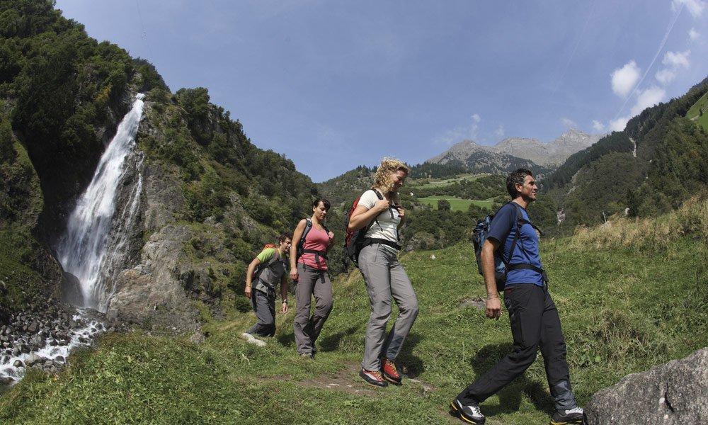 Escursioni o camminate in montagna via Prato Piazza