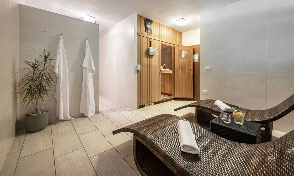 Entspannung total in der Sauna oder auf der Liegewiese